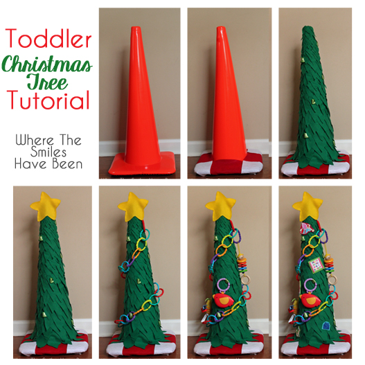 Toddler Christmas Tree Square