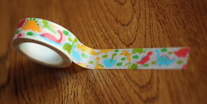 Dinosaur Washi Tape