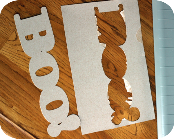 How To Cut A Cereal Box & Make A Custom Sign