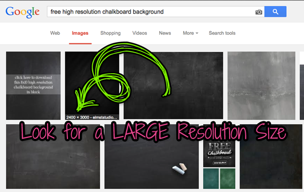 How To Make a Chalkboard Poster on a Mac