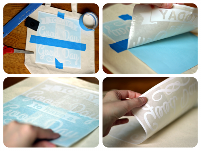 DIY Painted Canvas Bag & FREE Cut File!   Where The Smiles Have Been