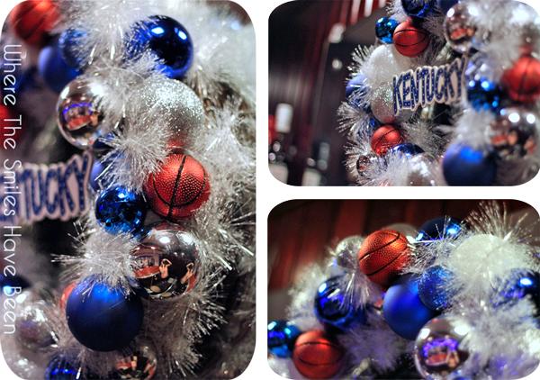 Kentucky Basketball Wreath