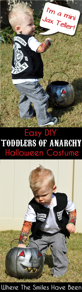 sc 1 st  Where The Smiles Have Been & Sons of Anarchy Toddler Halloween Costume