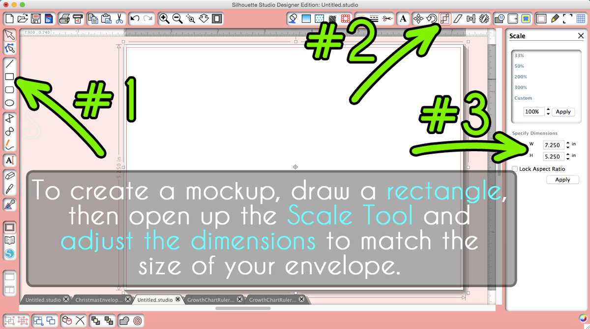 How to Use Silhouette Sketch Pens to Address Envelopes