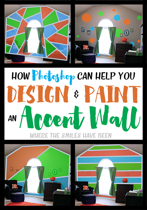 How Photoshop Can Help You Design & Paint an Accent Wall.
