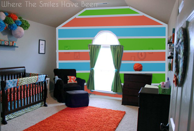 How Photoshop Can Help You Design & Paint an Accent Wall   Where The Smiles Have Been