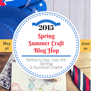 Spring Summer Craft Blog Hop! | Where The Smiles Have Been