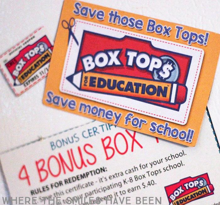 FREE Box Tops Reminder Graphic, Printable, & Cut File!