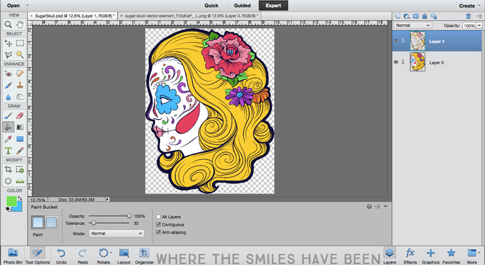 Sugar Skull Makeup Bag: Drop Dead Gorgeous! | Where The Smiles Have Been