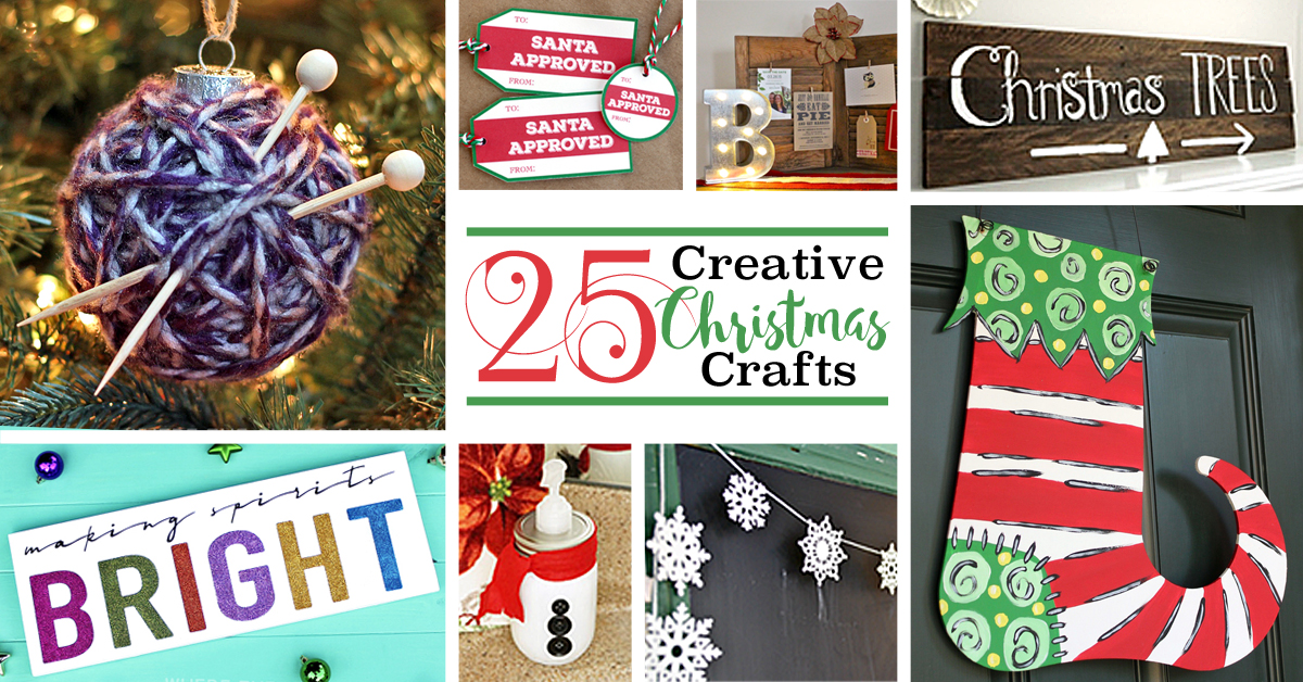 25 Unique Christmas Quotes Ideas On Pinterest: 25 Creative Christmas Crafts
