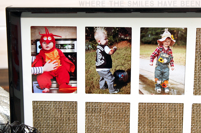 DIY Yearly Halloween Costume Photo Frame!