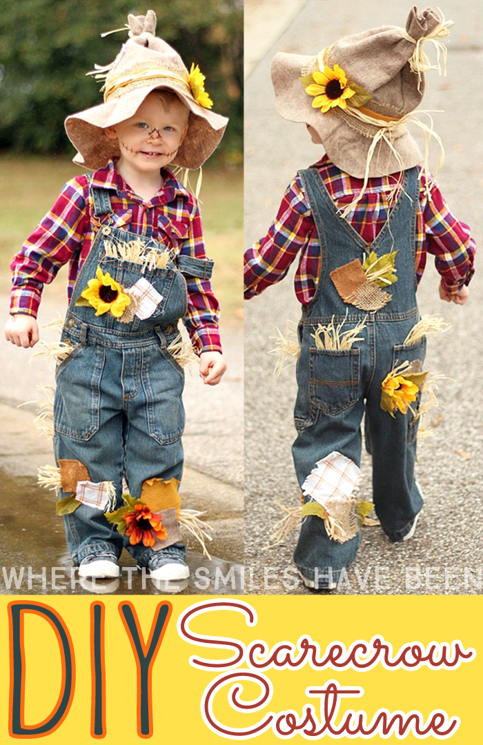 Easy Adorable Diy Scarecrow Costume That S Perfect For Kids Adults