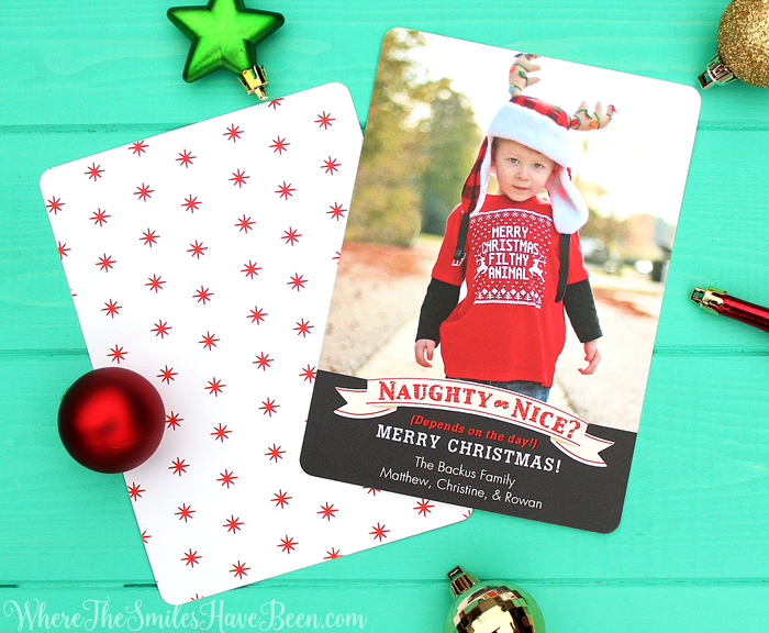 Hilariously Perfect Christmas Card for a Toddler! | Where The Smiles Have Been
