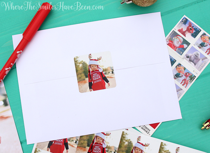 Hilariously Perfect Christmas Card for a Toddler! Where The Smiles Have Been #MoreThisHoliday