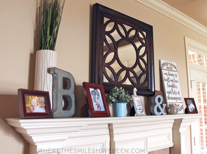 DIY Farmhouse Sign: Personalized Love & Shenanigans | Where The Smiles Have Been