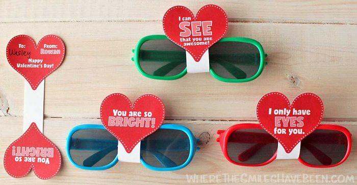 FREE Sunglasses Valentine's Day Cards