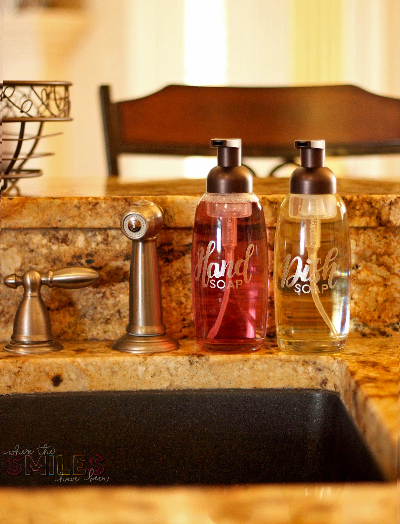 Foaming Soap Dispensers for hand soap and dish soap