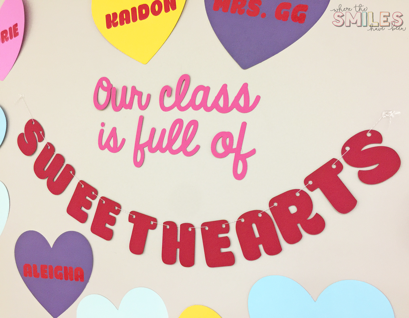 Our Class is Full of Sweethearts