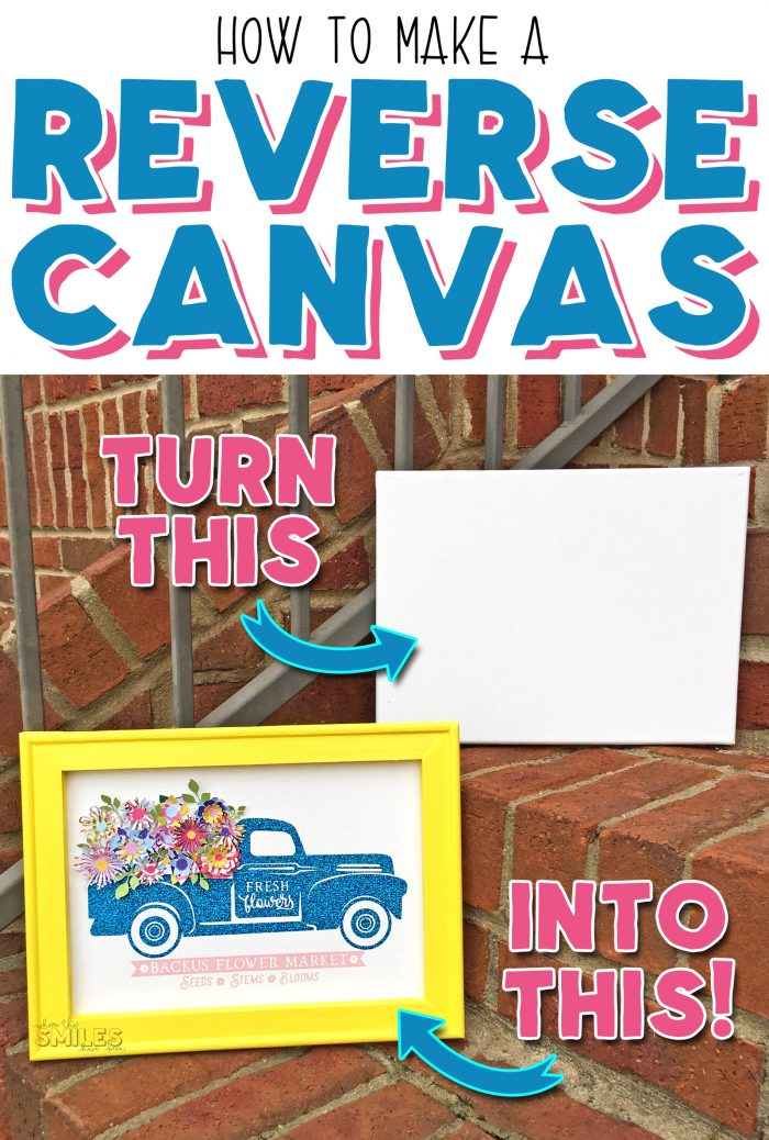 Make a Reverse Canvas.