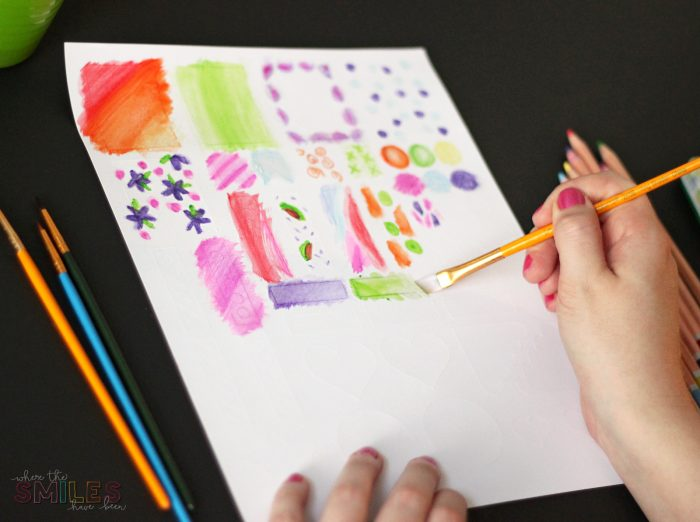 How to Make Watercolor Planner Stickers Using Watercolor Pencils | Where The Smiles Have Been #planner #plannerstickers #watercolor #watercolorpencils #Silhouette