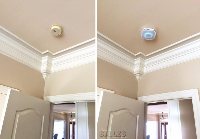 Every Parent's Dream Smoke Alarm: The NEW Onelink Safe & Sound | Where The Smiles Have Been #Onelink #ONELINKSTORY #homeimprovement