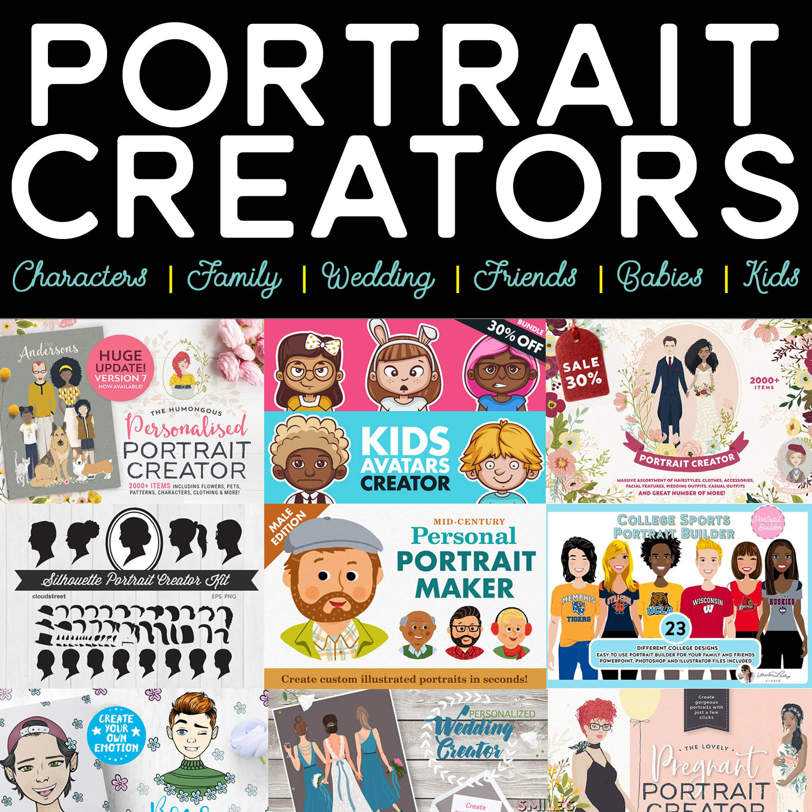 Awesome DIY Portrait Creators