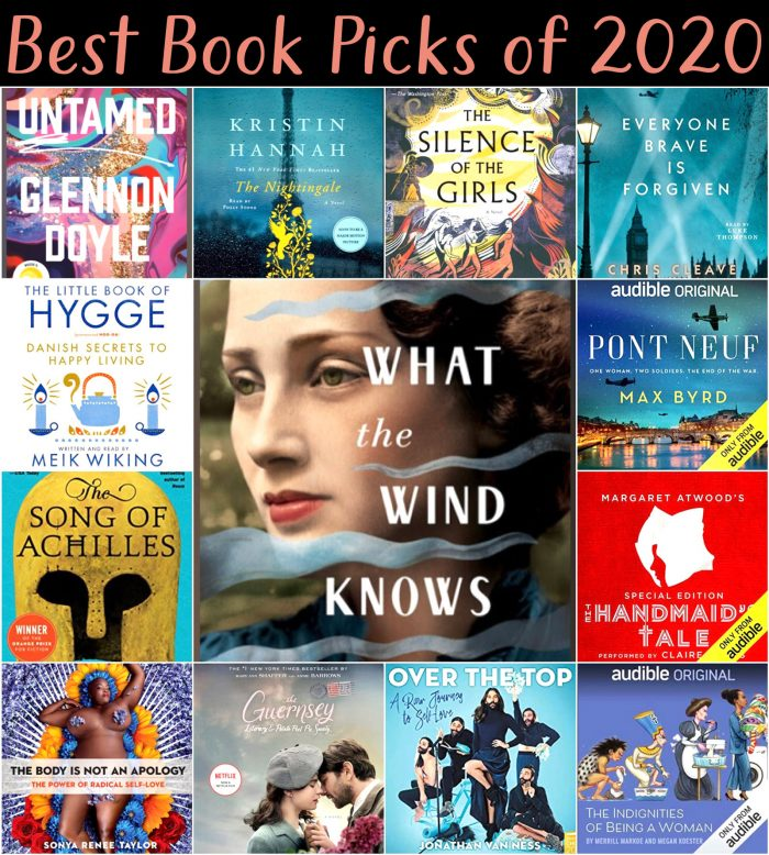 Best Book Picks of 2020 Book Cover Collage