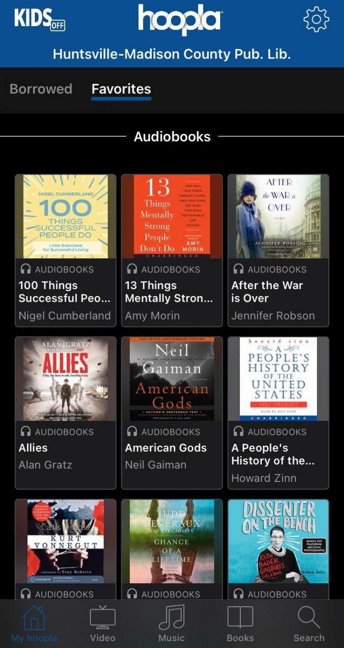 Hoopla reading app screenshot #reading #books #library