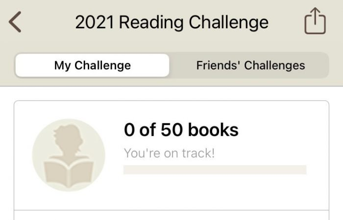 2021 Reading Challenge Goodreads