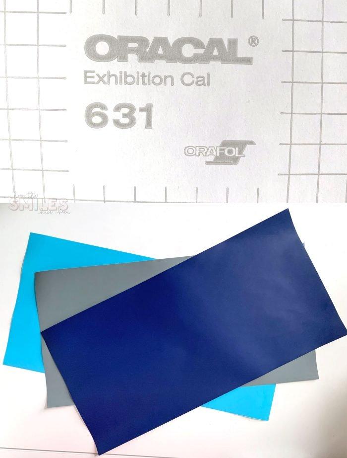 Oracal 631 removable indoor vinyl.